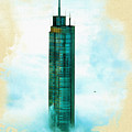 Illustration Of  Trump Tower by Don Kuing