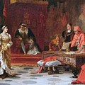 Katherine Of Aragon Denounced Before King Henry  by MotionAge Designs