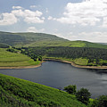 Kinder Reservoir From White Brow by Rod Johnson