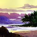Ko Olina Sunset by Lee Klingenberg