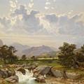 Landscape Near Abtenau by Celestial Images