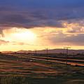 Last Light On The Railroad by Remegio Onia