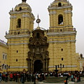 Lima Peru Church by Brett Winn