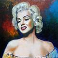 M. Monroe by Jose Manuel Abraham