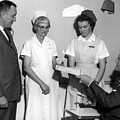 Man Male Handing Award Nurse February 1964 Black by Mark Goebel