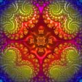 Mandala For Awakening The Creative Energy by Anna Sheradon