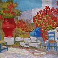 Mediterranean Courtyard.2003 by Natalia Piacheva