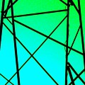 Metal Frame Abstract by Eric  Schiabor