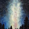 Milky Way At Night by Phajon Poomanee