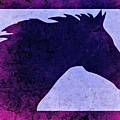 Mindy's Purple Horse  by Mindy Bench