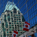 Modern Architecture - City Reflection Vancouver  by Christiane Schulze Art And Photography