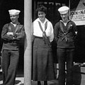 Navy Recruiting Personnel 19171918 Black White by Mark Goebel
