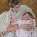 Nurse And Child by Celestial Images
