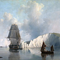 Off The Needles. Isle Of Wight by Edward William Cooke