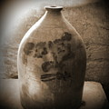 Old Time Jug In Sepia by Eva Thomas