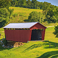 Parrish  Covered Bridge  by Jack R Perry