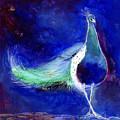 Peacock Blue by Nancy Moniz