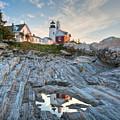 Pemaquid Point Reflection by Susan Cole Kelly