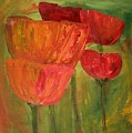 Poppies 2 by Julie Lueders