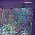 Purple Linear Abstraction by Anne-Elizabeth Whiteway