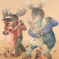 Rabbit Marcus The Great 04 by Kestutis Kasparavicius