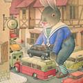 Rabbit Marcus The Great 18 by Kestutis Kasparavicius