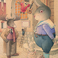 Rabbit Marcus The Great 21 by Kestutis Kasparavicius