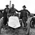 Race Car Team 1923 Black White 1920s Archive by Mark Goebel