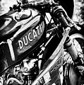 Racing Ducati Monochrome by Tim Gainey