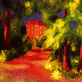 Red House by August Macke