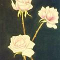 Roses In Full Bloom by Nancy Camm