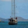 Sailing Virgin Islands by Joy McAdams