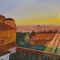 San Gimignano Sunrise by Eli Gross