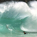 Sandy Beach Shorebreak by Kevin Smith