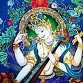 Saraswati 2 by Jeelan Clark