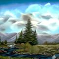 Serpentine Creek Dreamy Mirage by Claude Beaulac