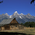 South Moulton Barn Grand Tetons by Gary Langley