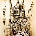 St. Nicholas Church In Prague by Melanie D