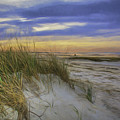 Sunset Beach Dunes by Mary Clough