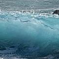 Surf Starter, Kekaha Beach by Debra Banks