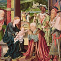 The Adoration Of The Magi  by Joos van Cleve