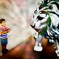 The Boy And The Lion 2 by Jean Francois Gil