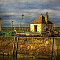 The Harbour At Maryport by Ian Lewis