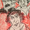 The Marx Brothers by Geraldine Myszenski