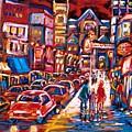 The Night Life On Crescent Street by Carole Spandau