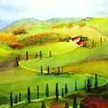 Tuscany by Maryann Schigur