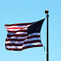 Usa Flag by Henrik Lehnerer