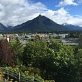 View From Top Of Castle Hill Sitka Alaska 2015 by California Views Archives Mr Pat Hathaway Archives