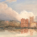 View Of Lambeth Palace On Thames by Celestial Images