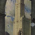 View Of The Woolworth Building by American School